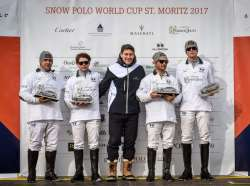 Maserati Start of Polo World Tour at Snow Polo