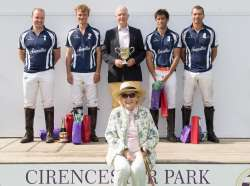 This Weekend at Cirencester Polo Club . . .