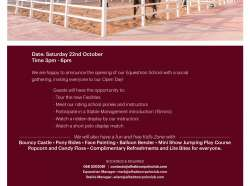 Equestrian Day Invitation_22nd October